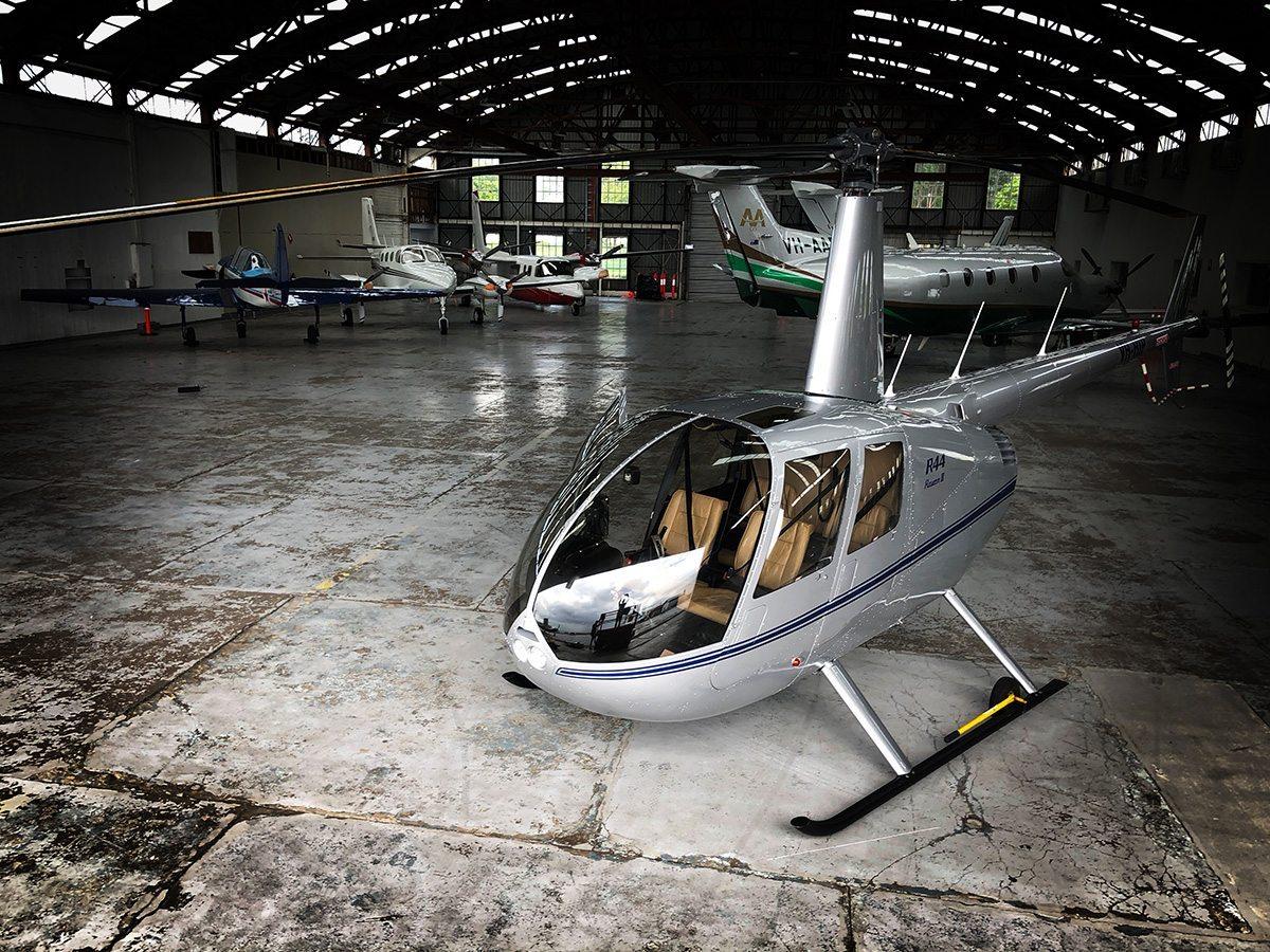 Our R44 RII - Bekaa Air