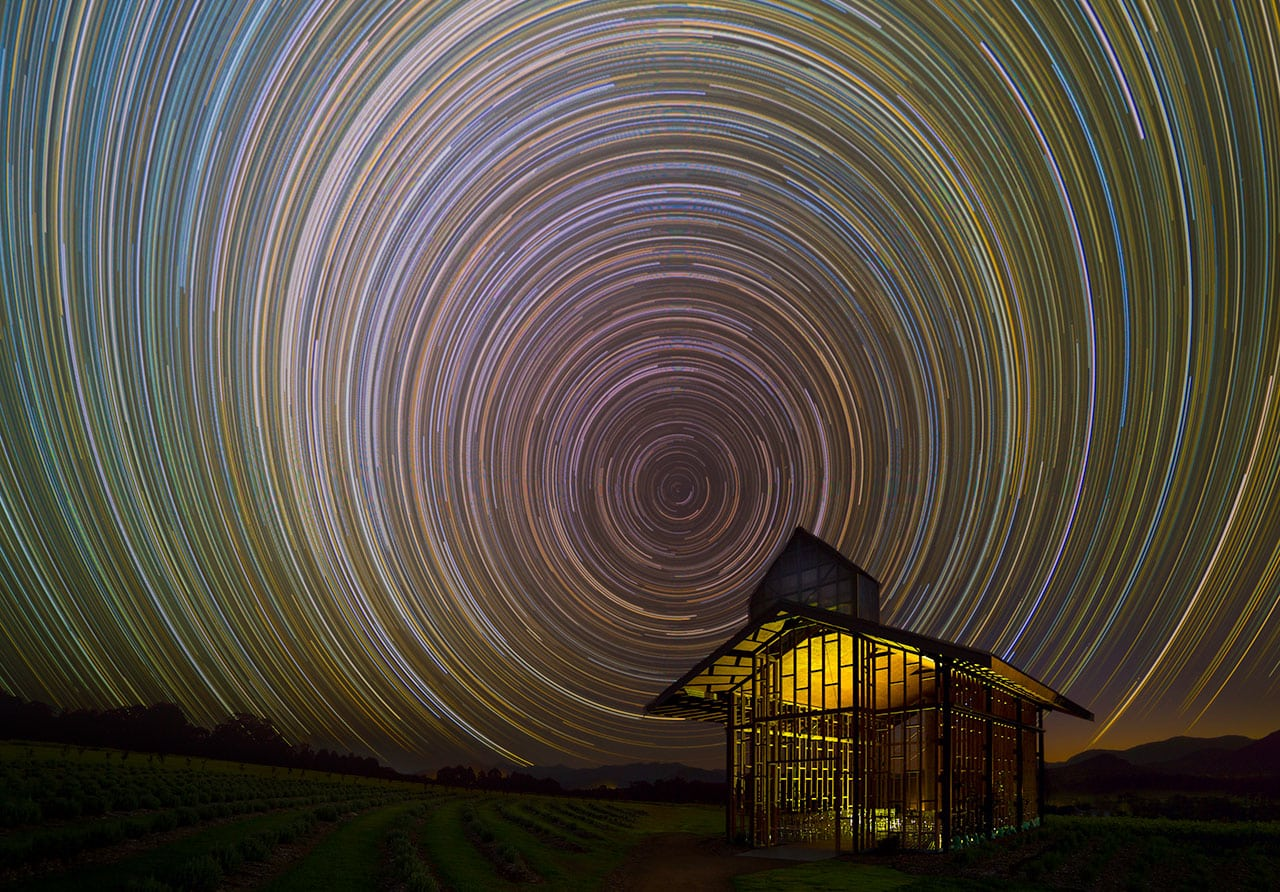 Kooroomba at night