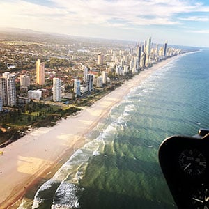 gold coast scenic flight