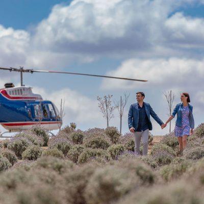 Kooroomba Lavender Farm Helicopter Tour