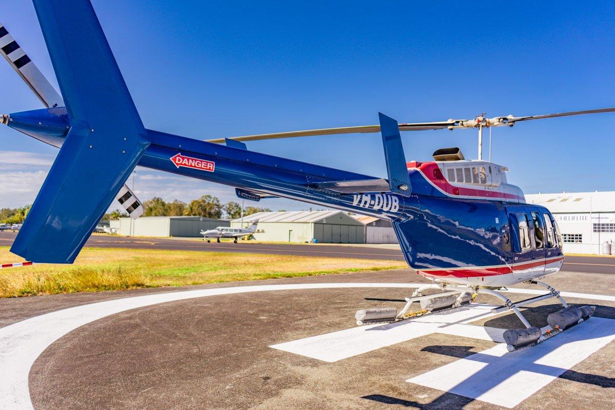Bell Longranger Rear - Brisbane