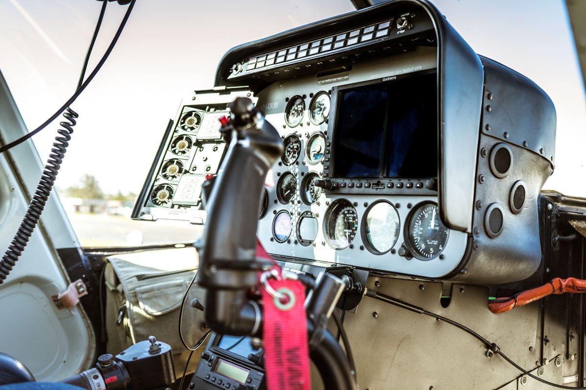 Bell Longranger Cockpit - Brisbane