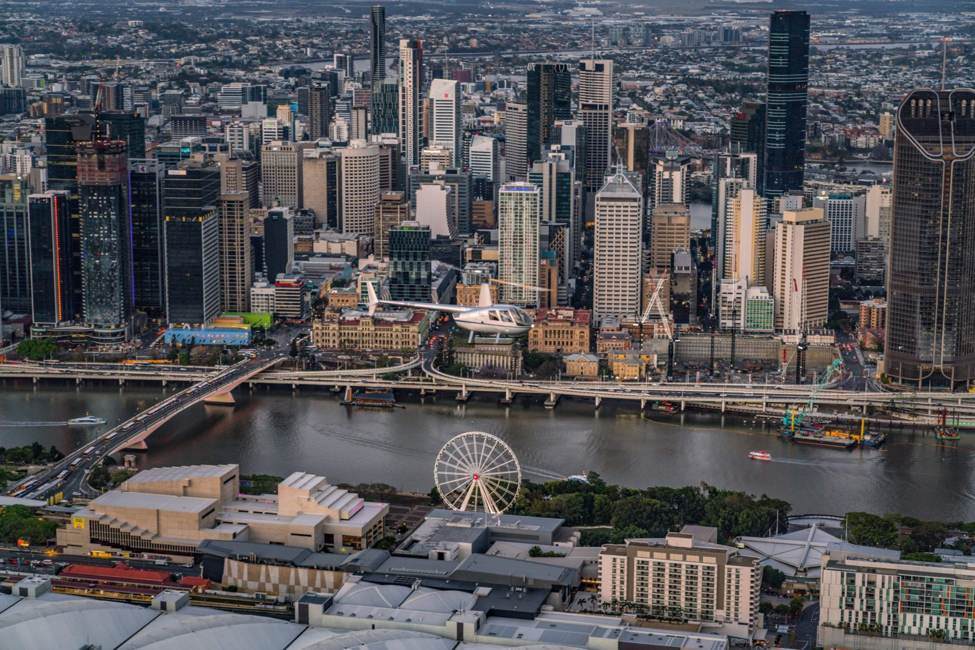 Southbank and Brisbane CBD