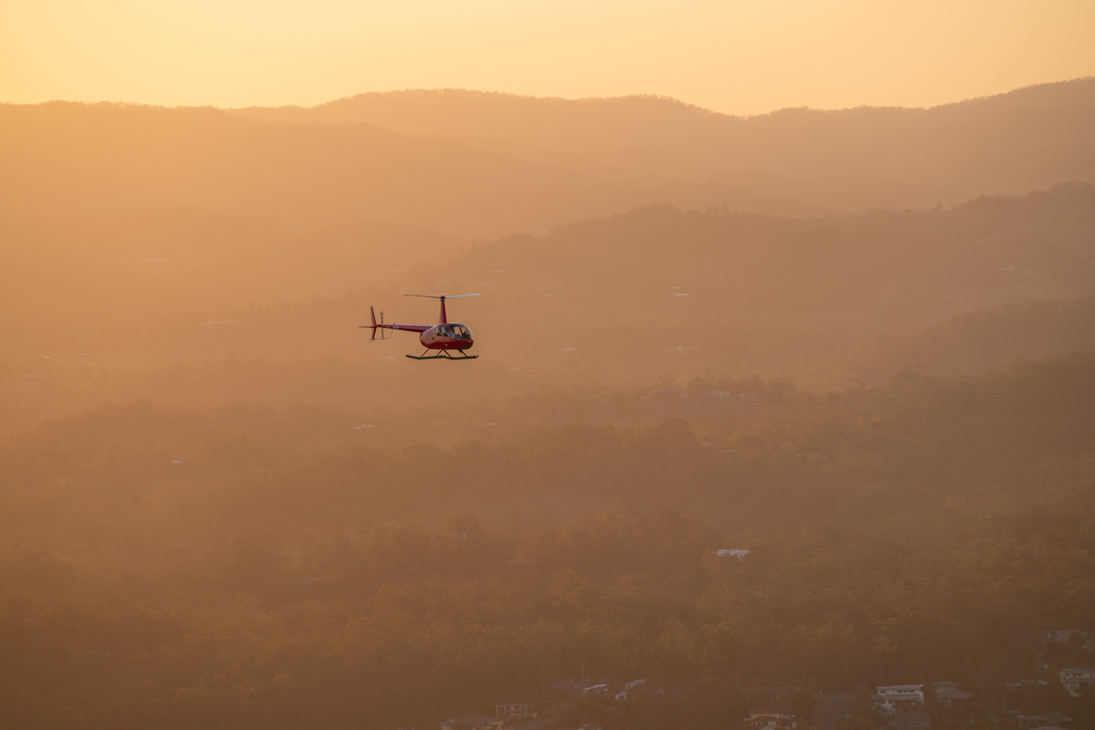 R44 Overhead Scenic Rim