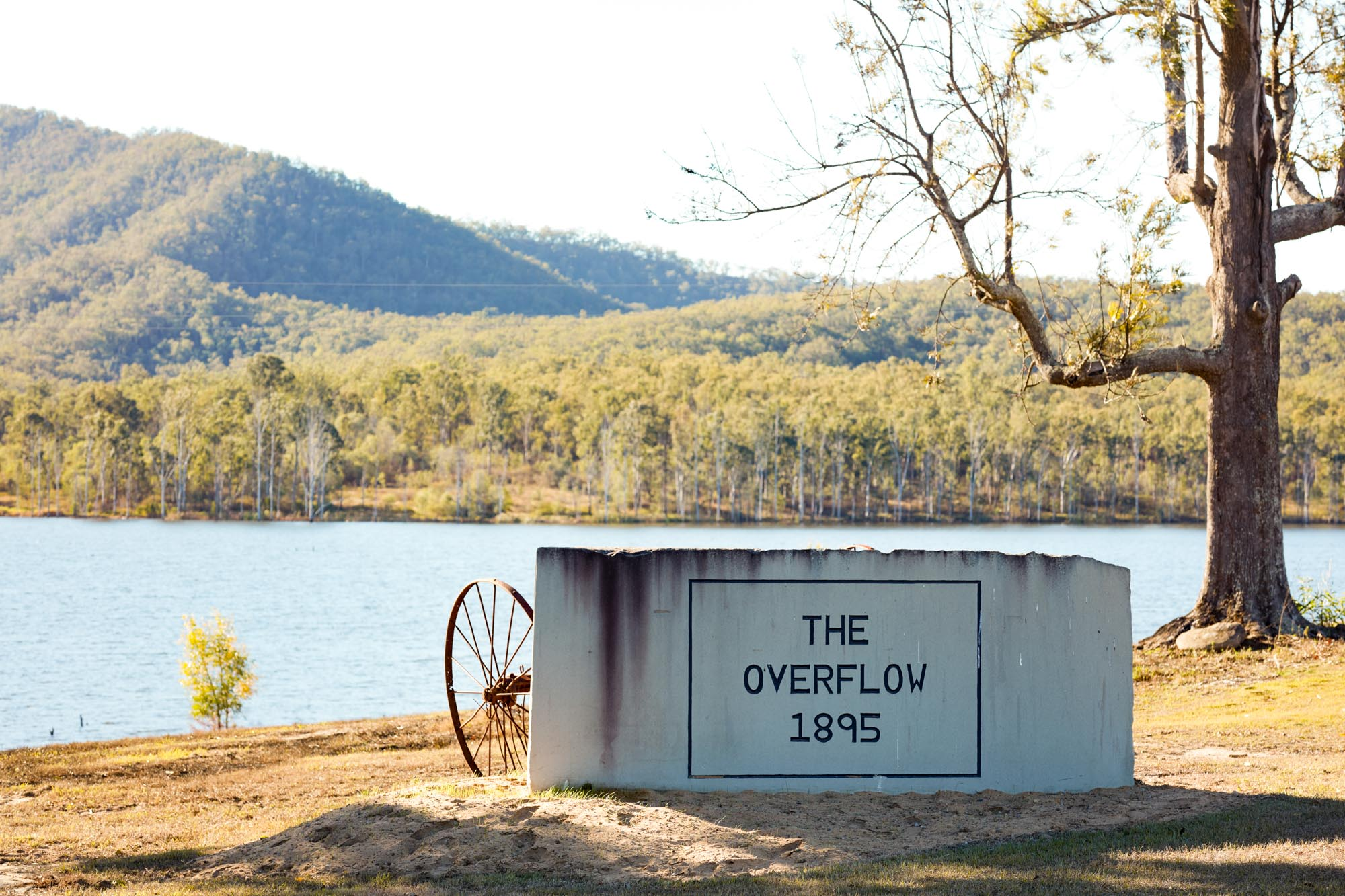 The overflow estate entrance